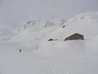 arrivando all'alpeggio