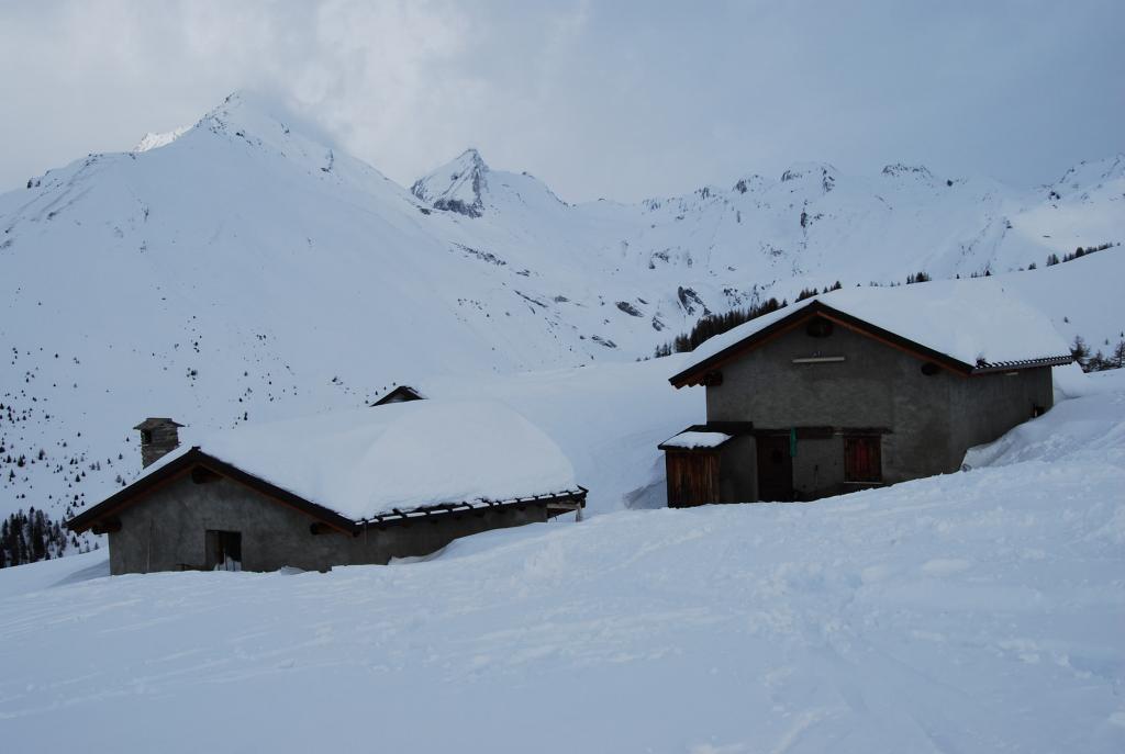 Les Ors (Alpeggio) da Cheverel 2012-01-08