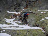 primo passaggio roccioso