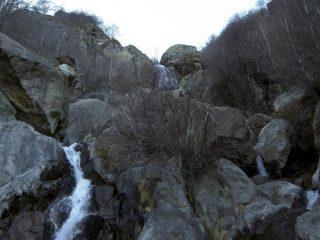 in alto la terza cascata