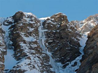 Parte alta della cascata