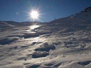 Il manto nevoso lavorato dal vento