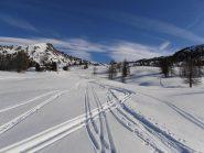 05 - Ci sono ancora spazi vergini, ma la neve non è il massimo...