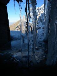 ghiaccio in galleria