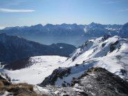 verso l'alpe Fontaney