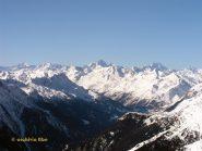 La vista spazia fino all'Oberland.