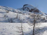 versante ovest dall'alpe Corbernas