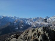Panorama verso l'alta Val di Viù