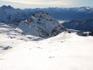 Il Monte Bieteron (2762 m) dalla cresta della Valfredda