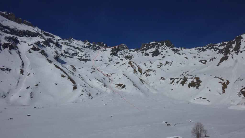 Valsorey (Aiguille Verte de)da Glacier 2012-01-18