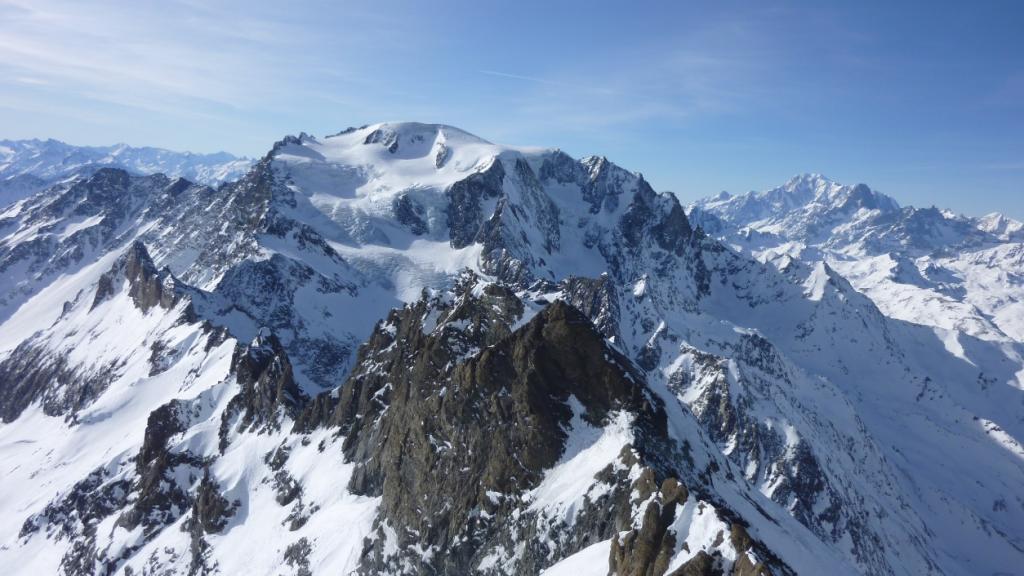 Il Mont Vèlan e il Grand Combin sono veramente vicini