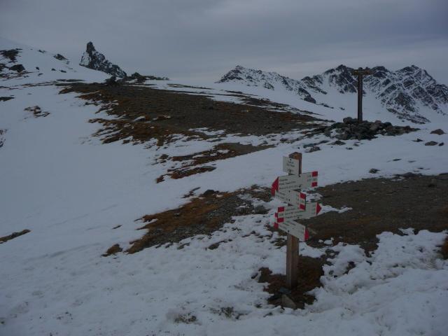 Saint Veran (Colle di) da Chianale 2012-01-19