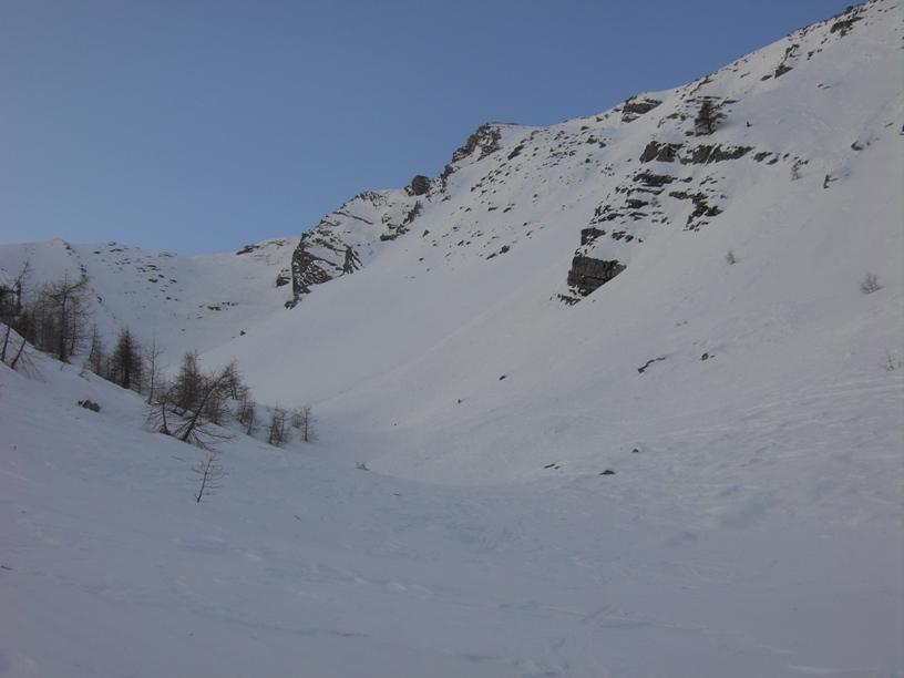 Parte mediana del vallone.