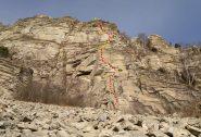 Rocca Parey - Via della Sorpresa 6b