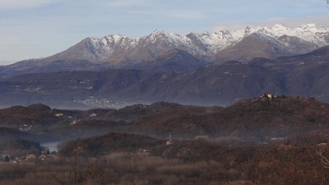 vista sulla odrsale dalla Quinseina al Monfandi