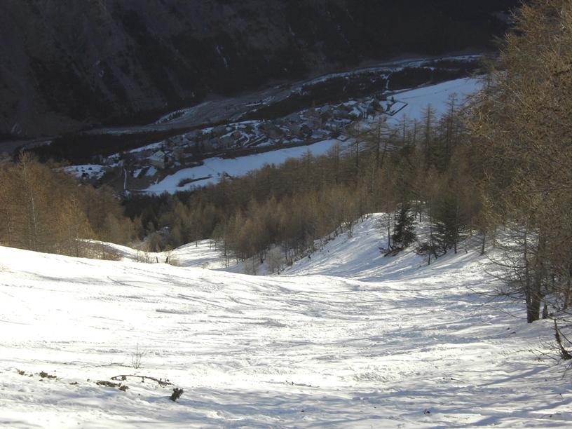 Parte superiore del bosco e Tournoux.