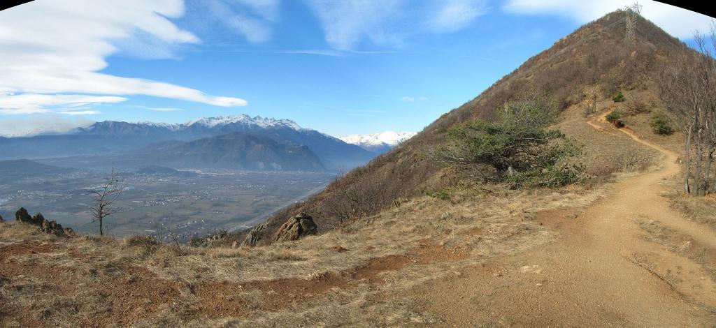 Musinè (Monte) e Monte Curt da Caselette, anello 2012-04-10