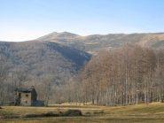 Cima Bossola vista dai pressi di Peiralba