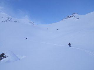 la parte sopra all'alpe Flassin