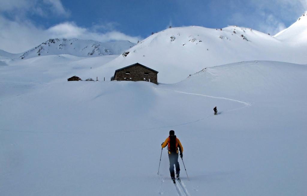 Arrivo all'alpe Flassin