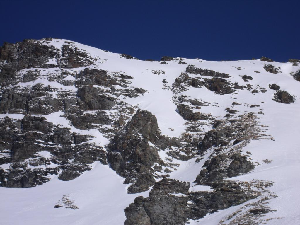 quota 2700 sotto le ultime rampe del Mont d'Arsy...