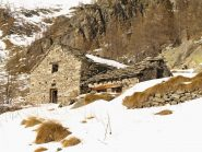 Una baita diroccata presso Alpe Giazet (1967 m)