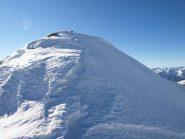 Gli ultimi metri ghiacciati di Punta Lazoney (2579 m)