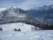 Veduta dell'Alpe Deccia