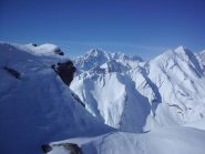 Dalla cima, verso il Bianco