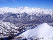 dalla cima verso la Val di Susa