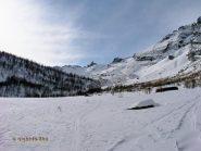 Nei pressi dell'alpe Vallè.