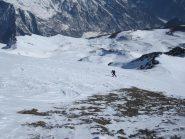 uno svizzero sopra il col Champillon