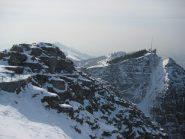 La stazione alta del Generoso e lapoca neve presente