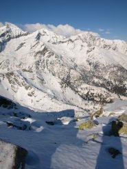Panorama Nord da Punta Prial (2424 m)