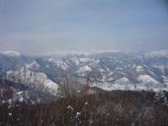 Pianura verso Caraglio e imbocco valle