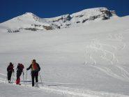 La cresta di salita dal Beverin Pintg al Piz Beverin