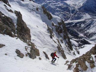 Fabio e il villagio di Montgenevre, 1300 metri più in basso