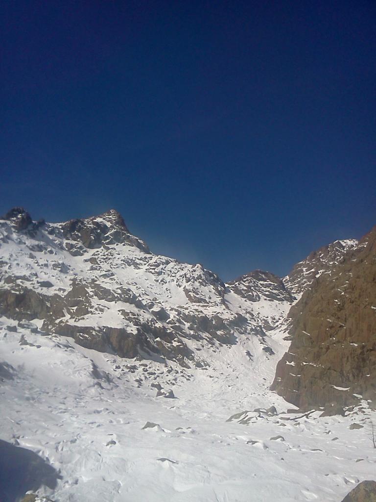 Il canyon di salita