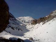 punta di Medzove sullo sfondo, siamo alla conca del lac geleè