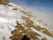 Cresta Nord-Nord-Est da Colle Carisey verso Rifugio Coda