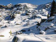 Il percorso che ho fatto (sbagliando) dall'Alpe Carisey