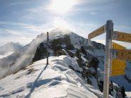 Colle Carisey (2142 m) cresta Sud-Sud-Ovest