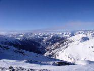 Dalla cima la Val Chisone