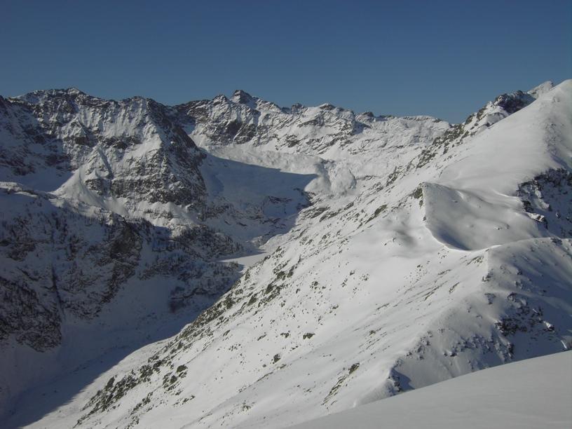 Valle della Meris e Lago Inf. di Sella.