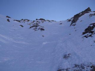 parte alta, neve buona