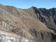 Verso alpe Molinetto al centro