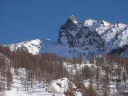 La Rocca dell'Aquila,salendo verso il Giobert