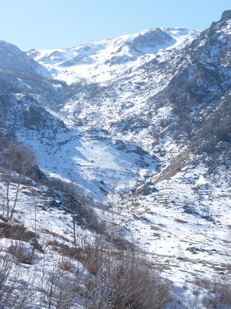 Il vallone del Rio Nanta