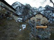 Alpe Vercosa con scarsa neve a quota 1600 m