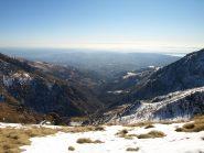 Valle del Torrente Elvo e Pianura verso Biella, viste da Colle Carisey